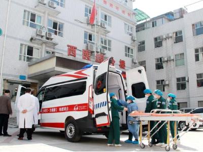 疫情期间我县获赠8辆救护车辆
