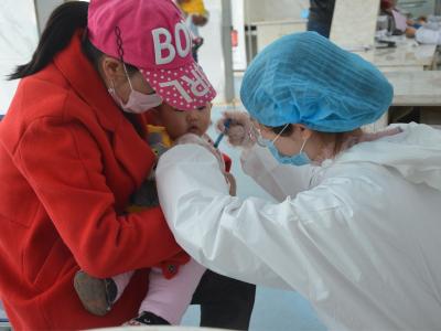 秦古镇中心卫生院:有序恢复预防接种工作