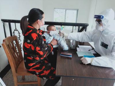 官渡镇中心卫生院恢复正常医疗秩序