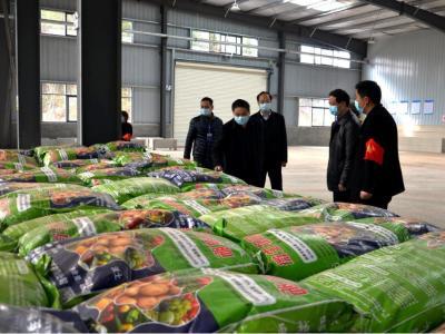 涂揚晟來竹檢查指導春季農業生產情況