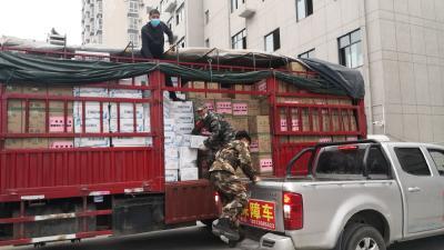 廣西捐贈13噸食用油、海鮮運抵竹山?