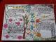 得胜镇:学生手绘画报缅怀先烈