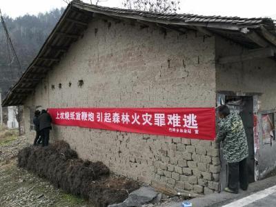 竹坪鄉:做實清明節期間森林防火工作