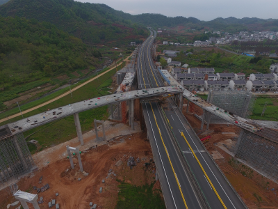 麻安高速竹山至宝丰段 今日起封闭单向行车道