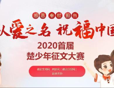 以爱之名 祝福中国——2020首届楚少年征文大赛