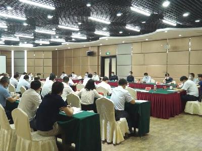 正规网赌软件app县举办政银座谈会