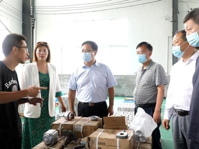 陳建平:全力服務入園企業 確保項目順利投產