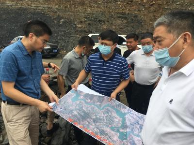 陳建平督導南部鄉鎮交通建設和防汛工作