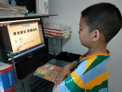 张振武小学开展创文传统美德教育活动