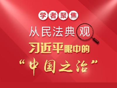 """一圖讀懂:從民法典觀習近平眼中的""""中國之治"""""""