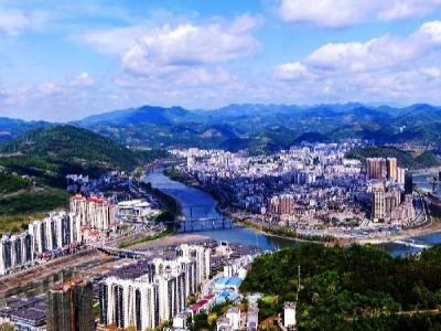 竹山县项目投资强力拉动经济恢复性增长
