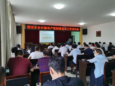 深河鄉有序推進農村集體產權制度改革