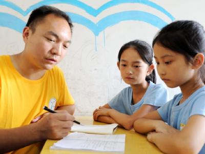 王太祥:为留守儿童营造温馨家园