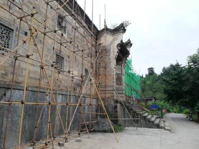 高家花屋修缮工程正式开工