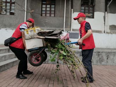 县人才服务中心:双报到进社区  党群共创文明城