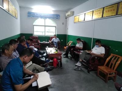 潘口乡中心学校召开党风廉政建设宣教月动员会