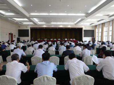 全县党建引领加强基层社会治理暨创文迎国测动员会召开