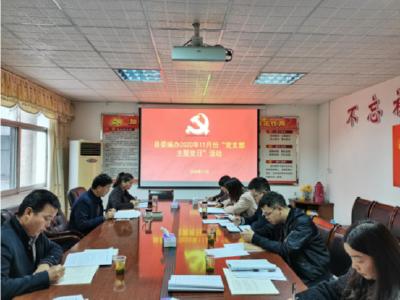 縣委編辦開展11月份支部主題黨日活動