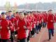 麻家渡镇九年制学校开展冬季长跑活动