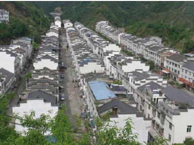 推进上庸集镇周边及移民区美丽家园建设