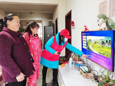溢水镇财政所进村入户指导惠农信息查询