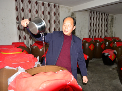 胡龙波:九女峰下酿好酒