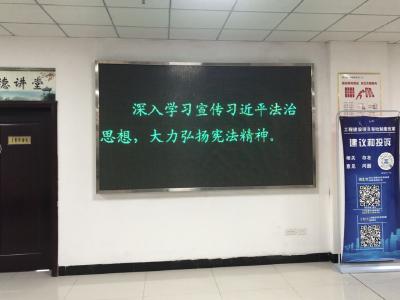 县行政审批局多措并举开展宪法日宣传活动