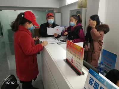 县委编办开展送法进社区活动