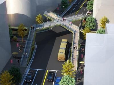 加快推进城区人行天桥建设