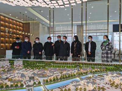 陈建平调研企业开工和重点项目建设