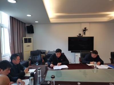 柳林乡召开2020年度民主生活会