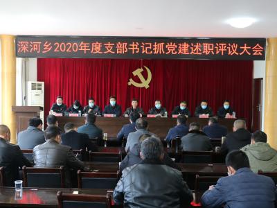 深河乡坚持党建引领提升基层治理能力