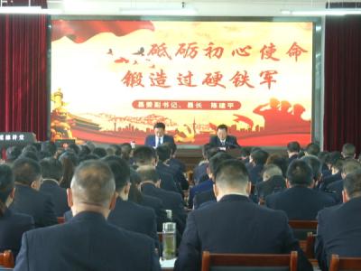 陈建平:推进政法队伍教育整顿走深走实