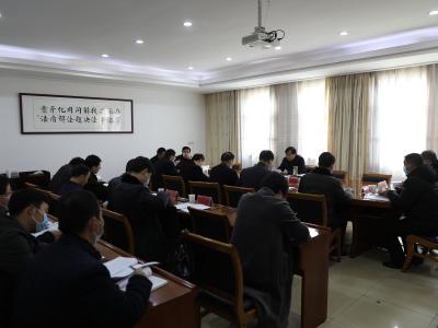 我县召开优化营商环境联席会议