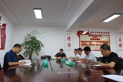 县兴竹集团:召开党史学习教育专题组织生活会