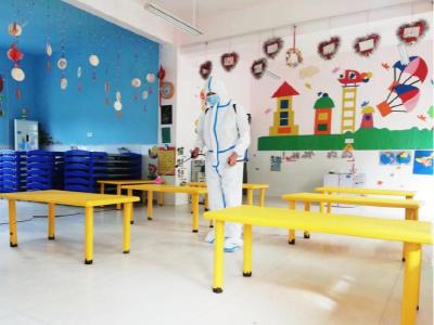 深河乡中心幼儿园开展疫情防控应急演练