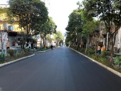 北大街道路改造项目即将完工