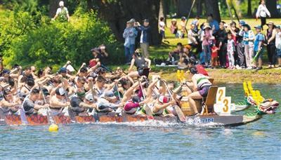 逾85个国家和地区开展龙舟赛,中国端午节成世界性节日