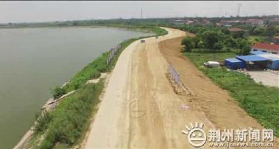 投资3.8亿元!长湖湖堤加固工程完成七成任务量