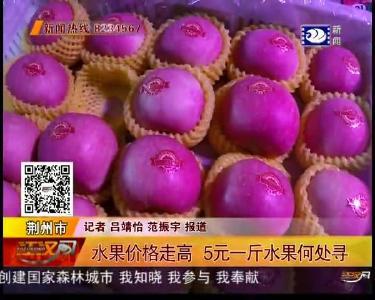 水果价格走高 5元一斤水果何处寻