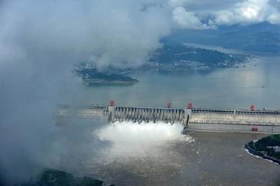 三峽水庫入庫流量將達38000立方米每秒