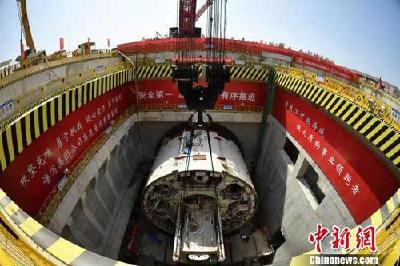 """直径15.76米!""""万里黄河第一隧""""开建"""