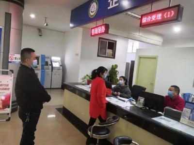 石首市政务服务中心恢复正常运行