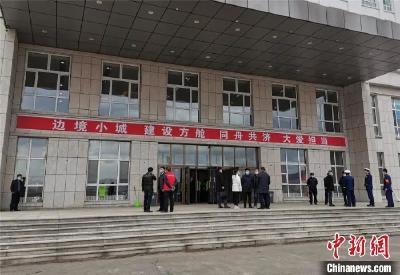 黑龙江绥芬河:对边境线实行24小时无死角、全覆盖、常态化巡逻