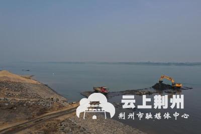 引江济汉长江取水口护坡加固工程 抓住窗口期跑出加速度