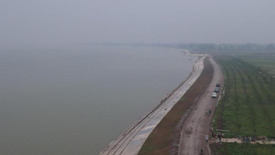 已完工99%!长湖湖堤加固工程可抵御百年一遇洪水