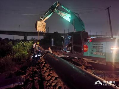 荆州纪南文旅区启动防汛二级响应 3200多人奋战一线守护群众安全