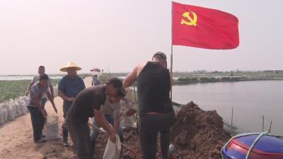 洪湖市:千余干群上前线 众志成城保家园