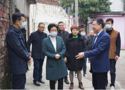 云上沙市区 | 刘辉萍调研督办张居正小学及岳中路改扩建项目进展情况