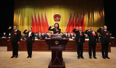 刘春霞同志当选公安县人民政府县长